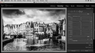 Converter fotos em preto e branco no Lightroom