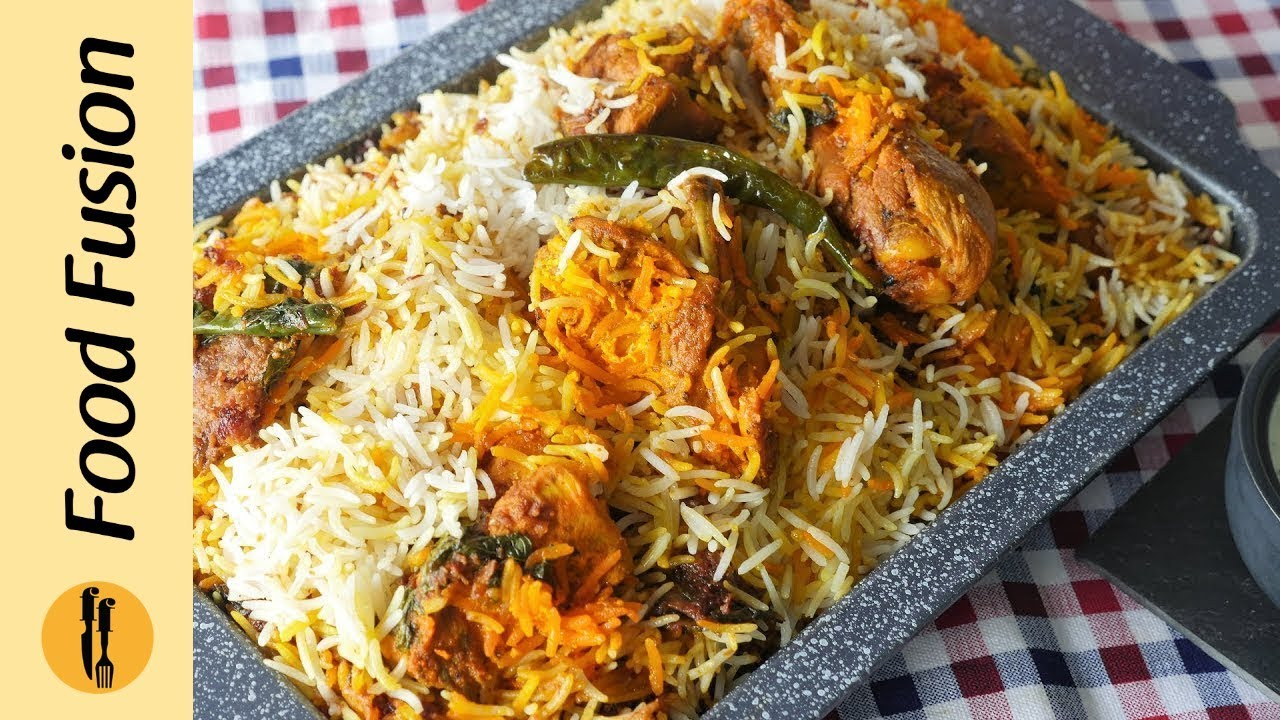 Special BBQ Chicken Biryani Recipe By Food Fusion