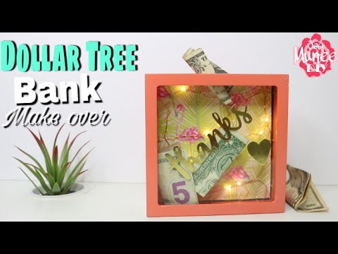 Dollar Tree DIY Savings Bank