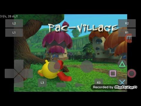 PlayStation2 PS2 Android Emulator Play! V0.30 Pac-Man World 2 Game Play