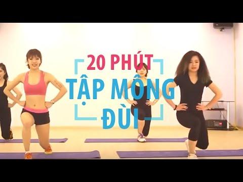 20 phút tập mông đùi hiệu quả nhất   Hana Giang Anh   Workout #16