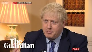 Huawei critics must come up with an alternative, says Boris Johnson