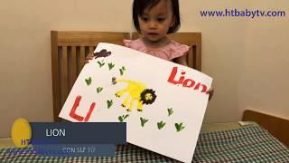 Learn Color For Kids Funny With Paint♥️ Bé Đọc Tên Con Vật Tranh Vẽ Ngộ Nghĩnh Màu Sắc♥️HT BabyTV ✔︎