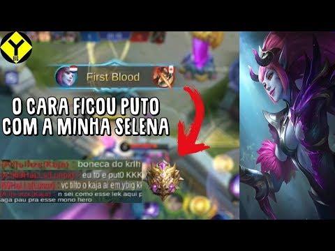 DUO MID INIMIGO MORREU 15x PRA MINHA SELENA  Mobile Legends