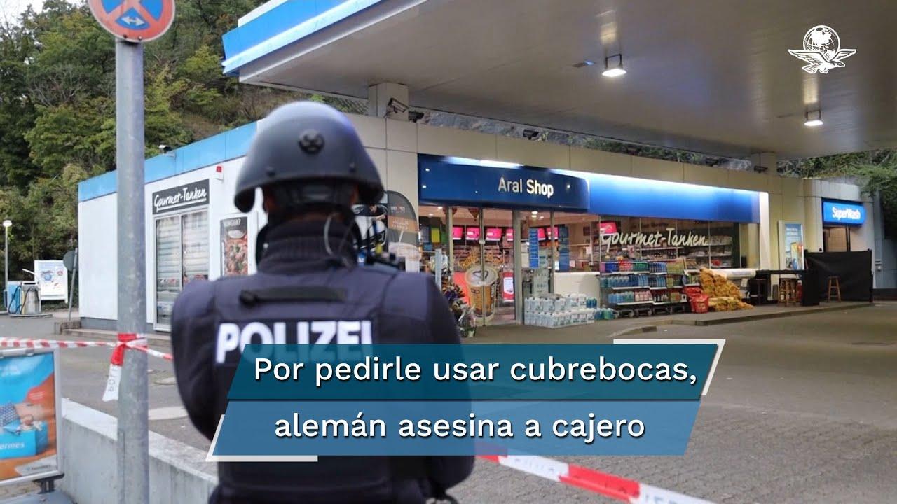 Download Sujeto mata a un cajero en Alemania por pedirle que se pusiera cubrebocas
