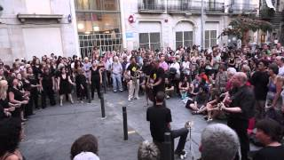 BCN Gospel Choir Playing for Change Day Stand by me
