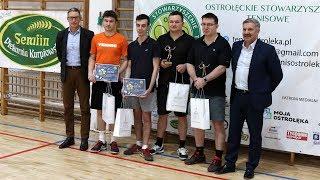 Turniej deblowy OST o puchar przewodnicz±cego rady miasta Ostro³êki