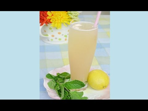 Cool Asian Pear Sparkler Summer Drink Recipe - YouTube