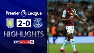 HIGHLIGHTS | Aston Villa 2-0 Everton | Premier League | 23rd August 2019