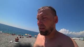 Т.К.#3 Обзор пляжей Анталии. Стоимость рыбалки.Какую валюту использовать?