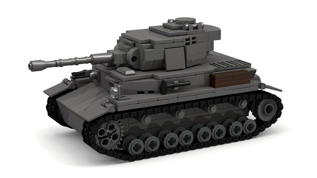Lego Wwii Panzer Iv Ausf G Tank Instructions Youtube