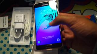 unboxing samsung galaxy a3 2016