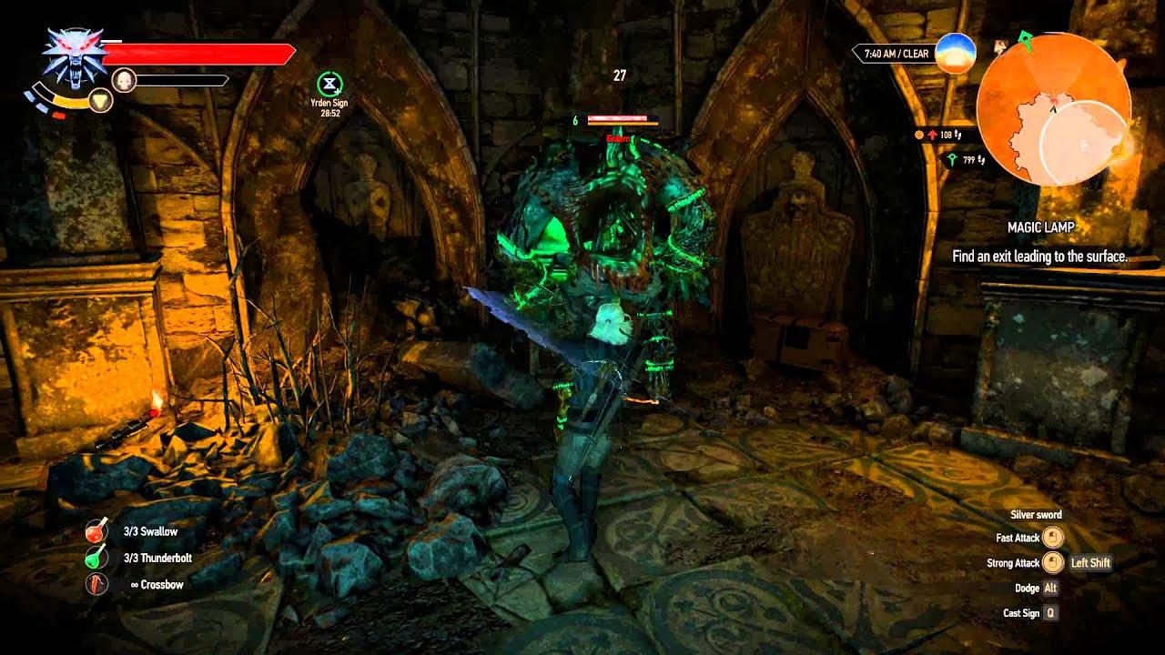 The Witcher 3: Wild Hunt - Magic Lamp and secret treasure/power ...