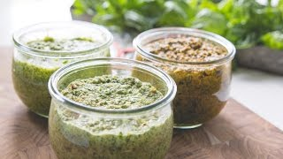 Pesto: Three Ways