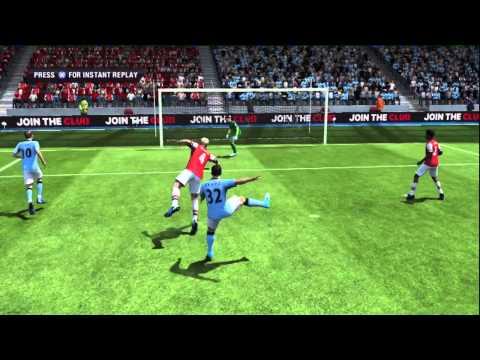 """FIFA 13 fail """"The Ass Shot"""" (+ Dumbass Goalie)"""