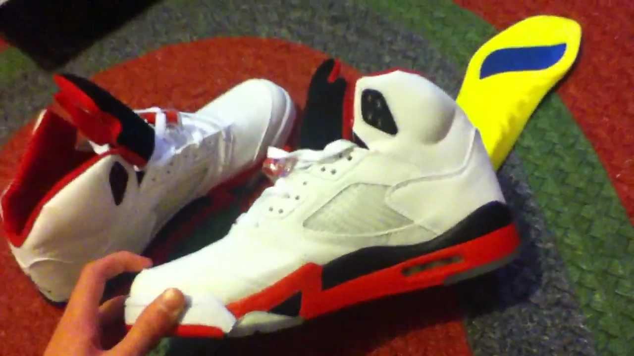 Air Jordan 5 Vrai Feu Rouge Ou Faux