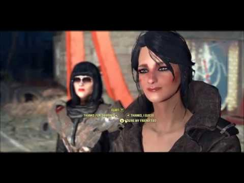 """Fallout 4 - Piper """"flirting"""" with Magnolia from YouTube · Duration:  24 seconds"""