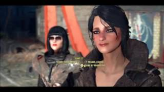 Fallout 4 Flirting with Vault Girl Laura .Fully voiced Companion