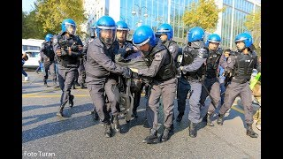19 oktyabr mitinqindən anlar: polis zorakılığı, həbslər
