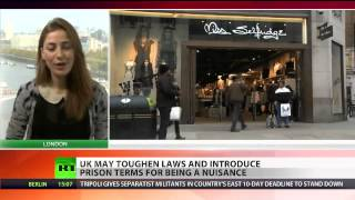 WOW  MUST SEE!! People In Police State UK Could Face Jail For Being A Nuisance