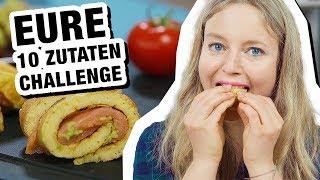 10 Zutaten Challenge: Fan Edition 🙏