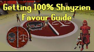 OldSchool RuneScape - Getting 100% Shayzien Favour Guide (Rewards + Obtaining Shayzien Armour)