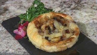 How to Make a Honey-Glazed Mushroom Tart