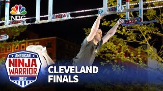 Joe Moravsky at the Cleveland Finals - American Ninja Warrior 2017