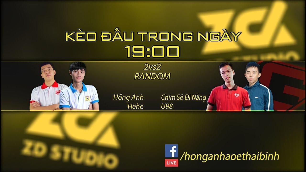 Live  Hồng Anh, Hehe VS Chim Sẻ, U98   2vs2 Random  CHIM SẺ ĐI NẮNG HUYỀN THOẠI
