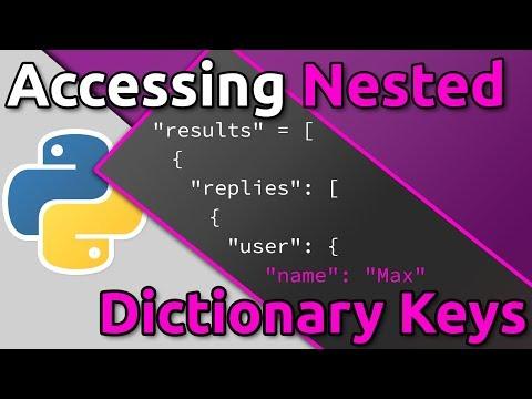 Python - Accessing Nested Dictionary Keys