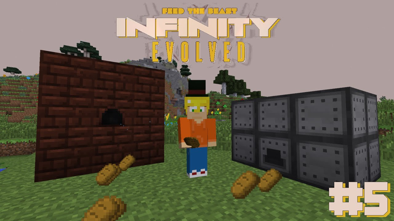 FTB: Infinity Evolved #5| Blast Furnace and Rock Crusher ...