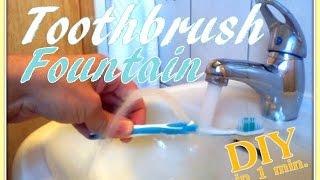 Toothbrush Life Hack...to make life easier