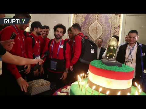 Happy Birthday! Mo Salah gets 100-kg cake from Chechen fans