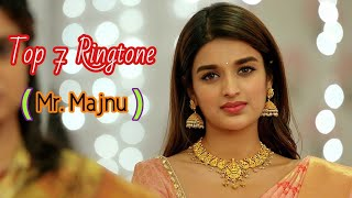 Top 7 Mr. Majnu Lovely Ringtones Bgm || Mr Majnu Background Music(BGM) || S Thaman || Akhil Akkiene