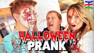 3 CREEPY Halloween PRANKS an Papa 😈 NICHTS für schwache Nerven😱 TipTapTube Family 👨👩👦👦