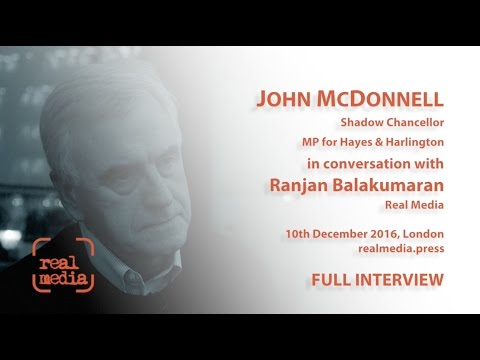 John McDonnell Interview Full 37 minute video
