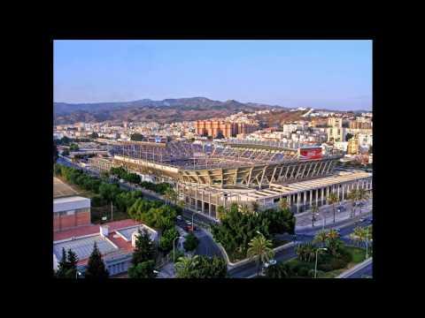 Remodelación del Estadio de La Rosaleda (Málaga) entre los años 2004 y 2006.