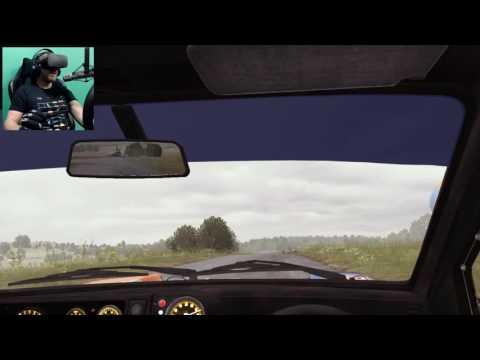 Dirt Rally VR Daily - Nov 20th - Metro at Ruschberg w/ Oculus Rift