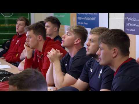 Camp P:  at the Wales U20s camp