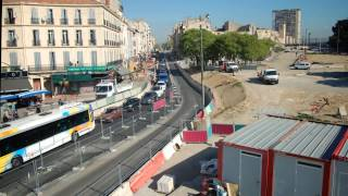 Film Euromediterranee - Aménagements Avenue Camille Pelletan ZAC ST CHARLES