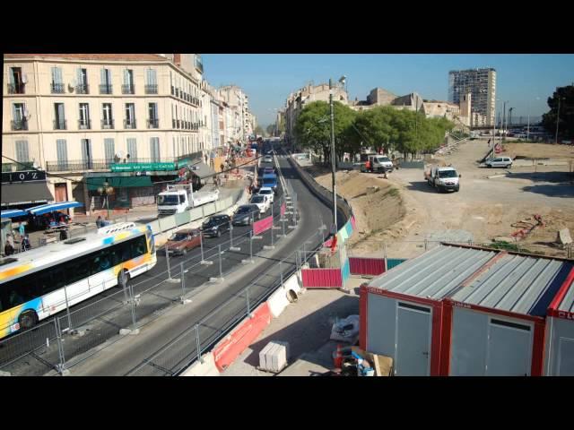 Film Euromediterranee Amenagements Avenue Camille Pelletan Zac St Charles Youtube