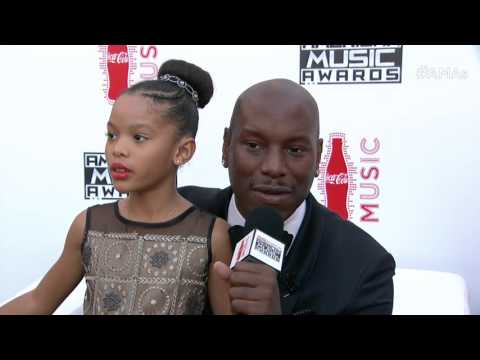 Tyrese Gibson Red Carpet Interview - AMAs 2015