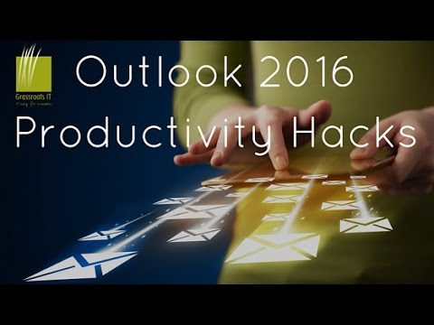 Outlook 2016 Productivity Power Tips HD
