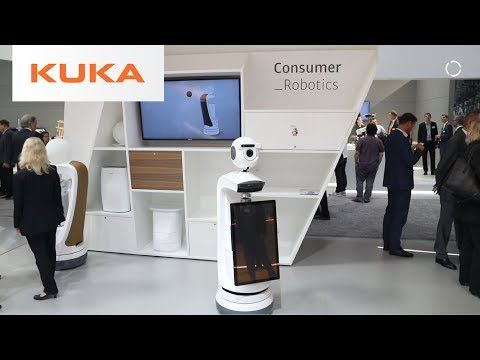 The Future of Consumer Robots | KUKA @ Hannover Fair 2018