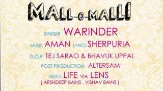 Mall-O-Malli (ਮੱਲੋ-ਮੱਲੀ) || Warinder || Official HD Video || Lok Geet Records || Latest Punjabi Song