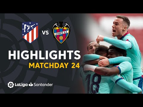 Atletico Madrid Levante Goals And Highlights