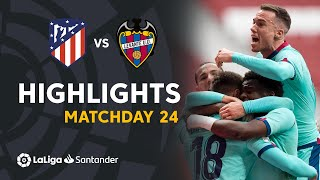 Highlights Atletico Madrid vs Levante UD (0-2)