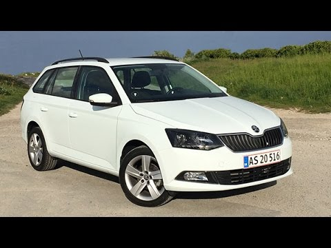 skoda fabia combi 1 2 tsi 90 hk style 2015 review youtube. Black Bedroom Furniture Sets. Home Design Ideas