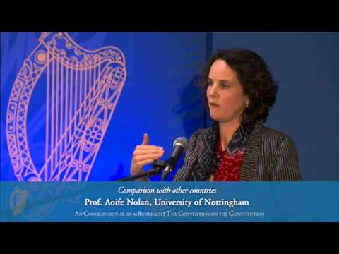 Comparison with other countries: Prof. Aoife Nolan, University of Nottingham)