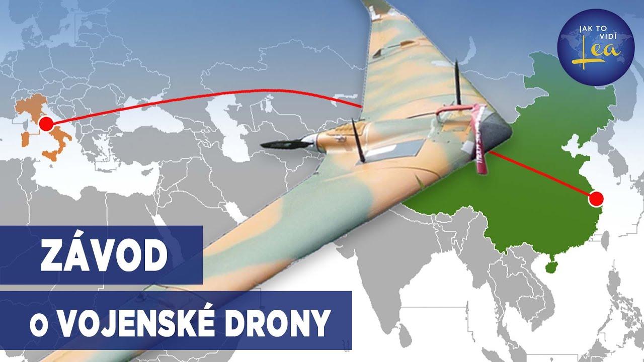 Italský výrobce dronů tajně převzat čínskou státní společností